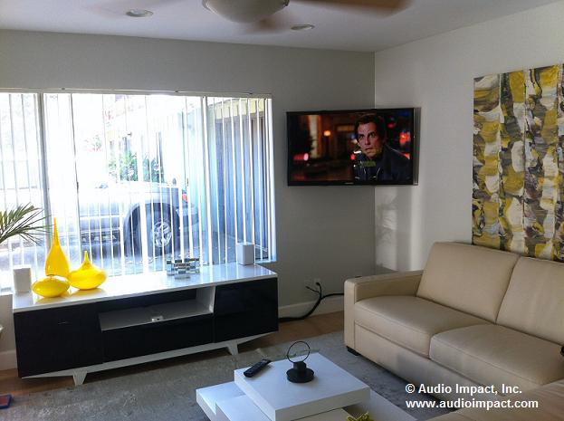 Audio Impact Installation Of The Week Basic On Wall Tv