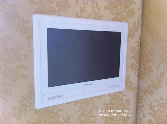 Installation Of The Week Crestron In Wall Touchpanel