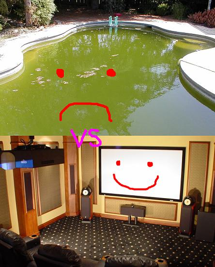 Battle Royale: Home Theater vs Swimming Pool - Audio Impact