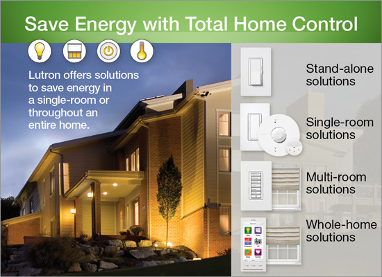 save energy with total home control audio impact