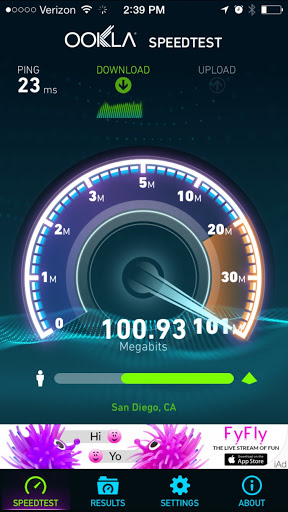 WiFi Speedtest 1
